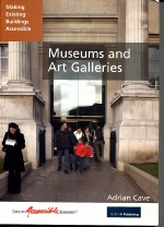 Front page of the CAE publication, Making Existing Buildings Accessible: Museums and Art Galleries