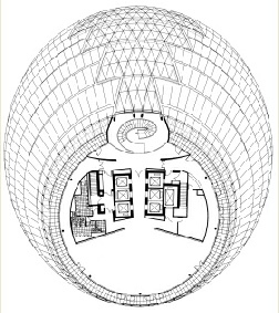 A plan of one of City Hall's floors